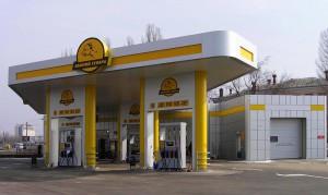 оформление заправочного комплекса Гепард (Киев)